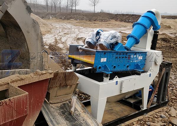 江西客户选购long8重工细沙回收机现场案例